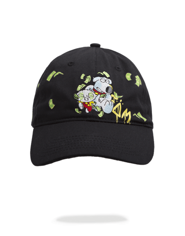 SprayGround Stevie and Brain on the run Dad Hat