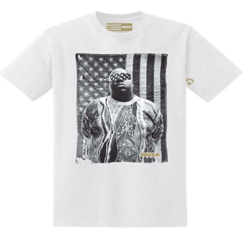 MUSA - Free Biggie Tee in White