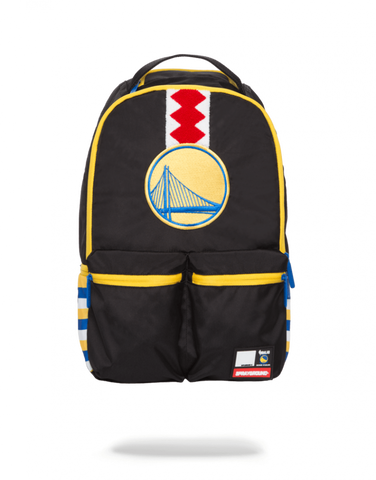 SprayGround NBA Lab Warriors double cargo bookbag