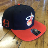 '47 Brand Miami Heat Sure Shot SnapBack