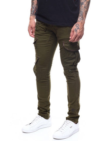 Heritage By America Stretch Utility Twill Cargos