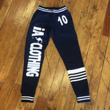 Inshallah Blue and Gray Joggers