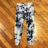 Golden Denim Marathon Joggers Blue Acid