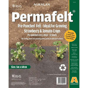 Permafelt™ Weed Control - Ideal for Strawberry & Tomato Crops