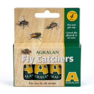 Fly Papers 4 Pack (Single Pack)