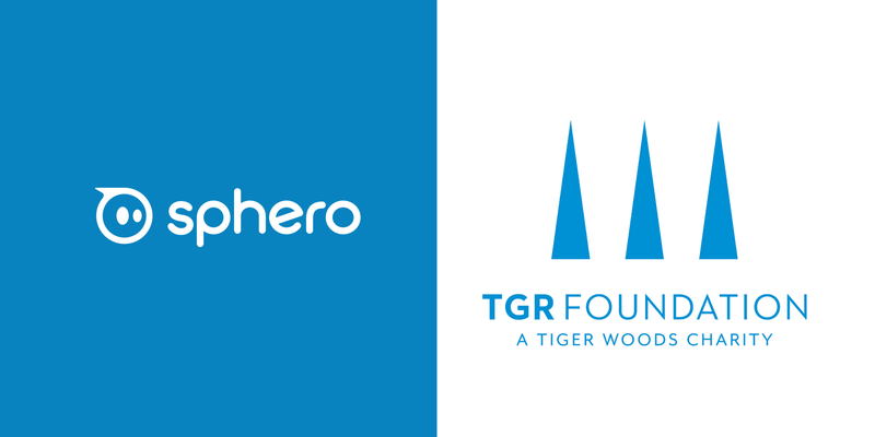 Sphero and TGR Foundation logos.