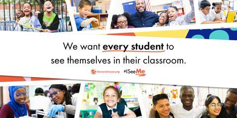 Ayah Bdeir Supports #ISeeMe with DonorsChoose.org to Empower Students to Become Tomorrow's ChangeMakers