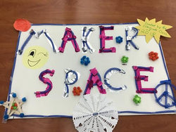 Maker Space craft created by students.