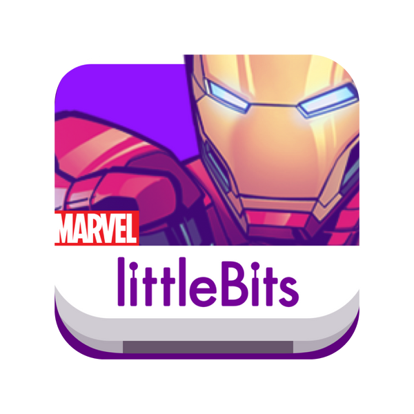 littleBits MARVEL app Icon.