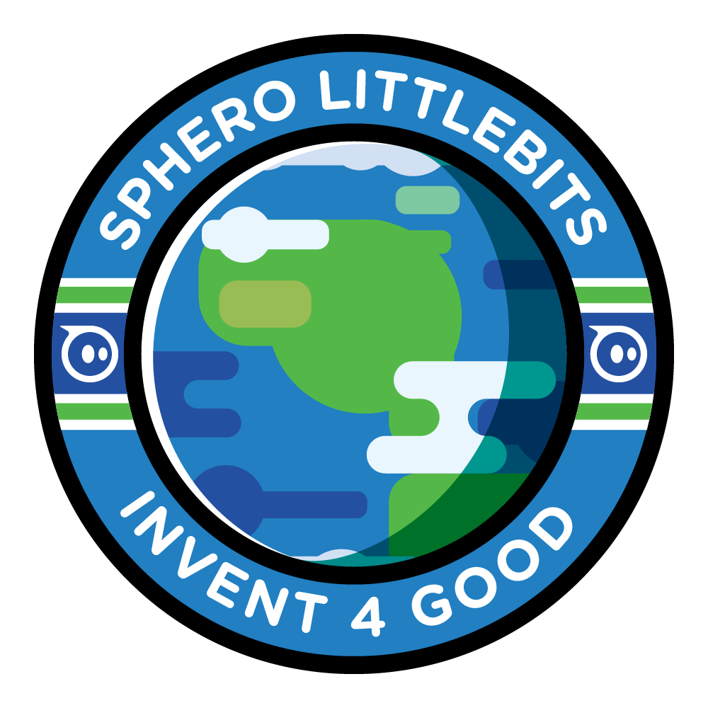 littleBits Invent for Good Competition badge.
