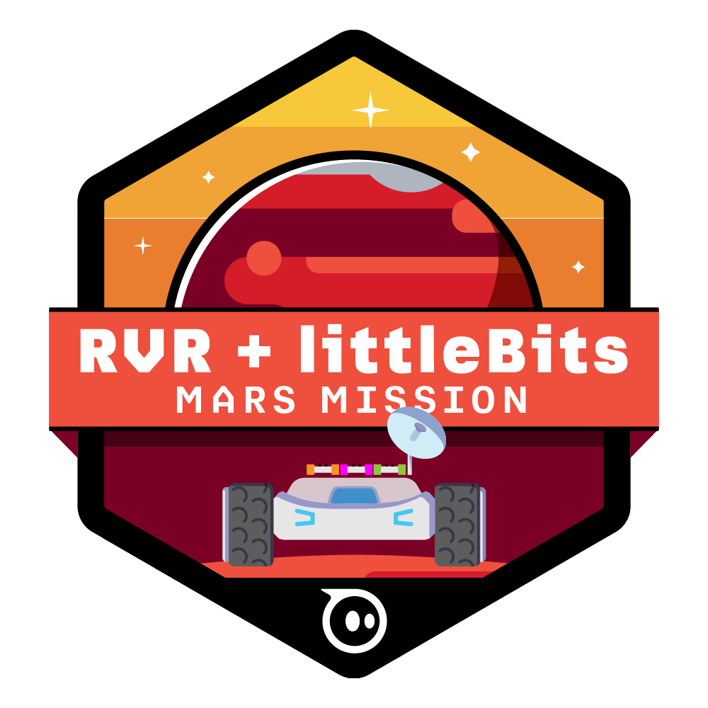 RVR MARS MISSION BADGE.