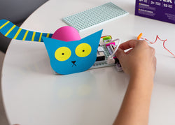 littleBits Educator Starter Kit invent a creature activity.