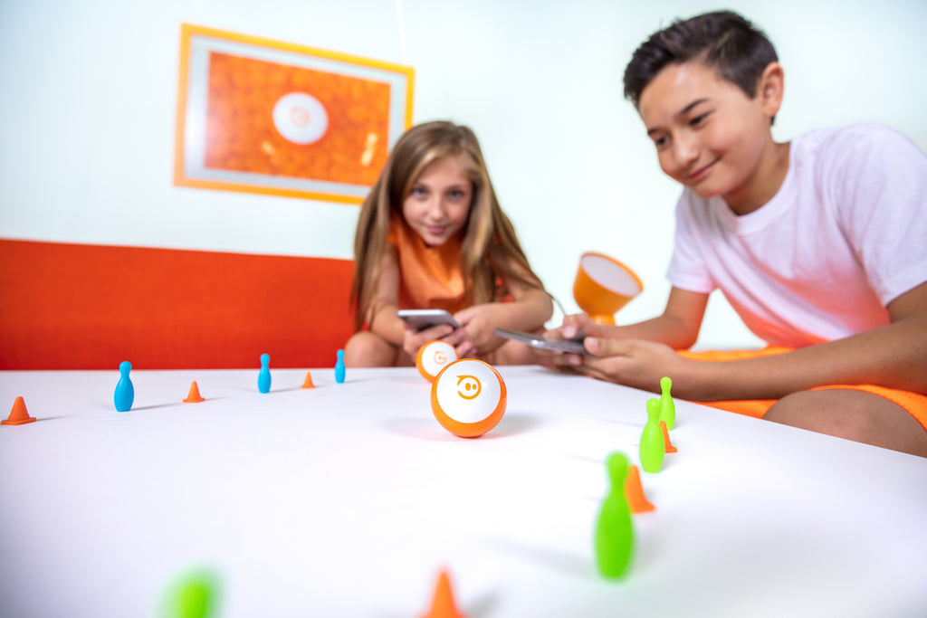 Sphero Mini is a fun learning robot for kids ages 8 and up, too.