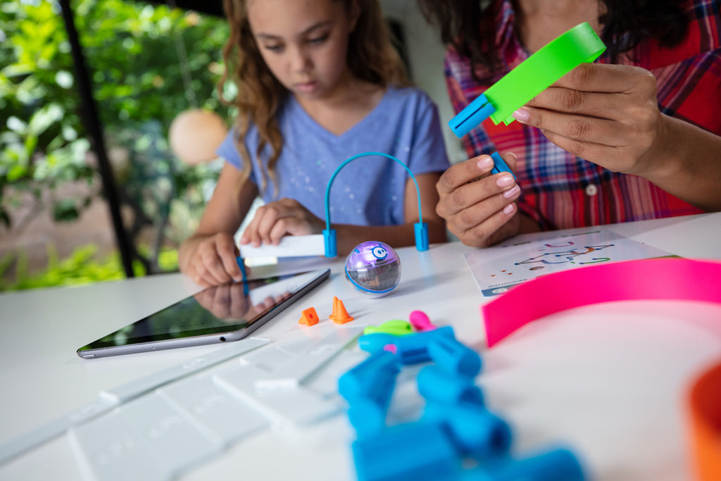 Sphero Mini can be an ideal coding robot for kids ages 5-8.