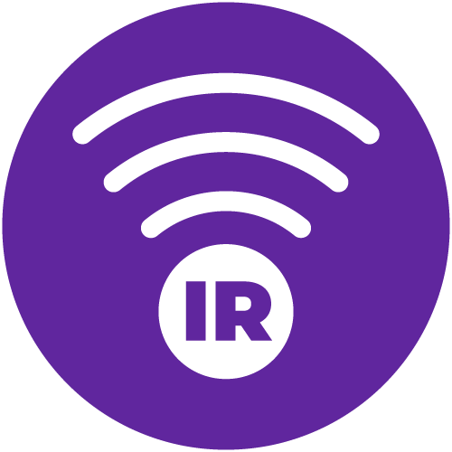 Purple icon for Infrared Communication