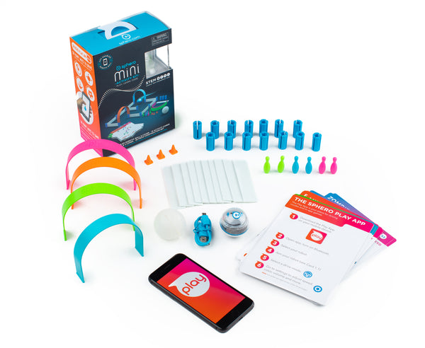 The Sphero Mini Activity Kit contents on a white background.