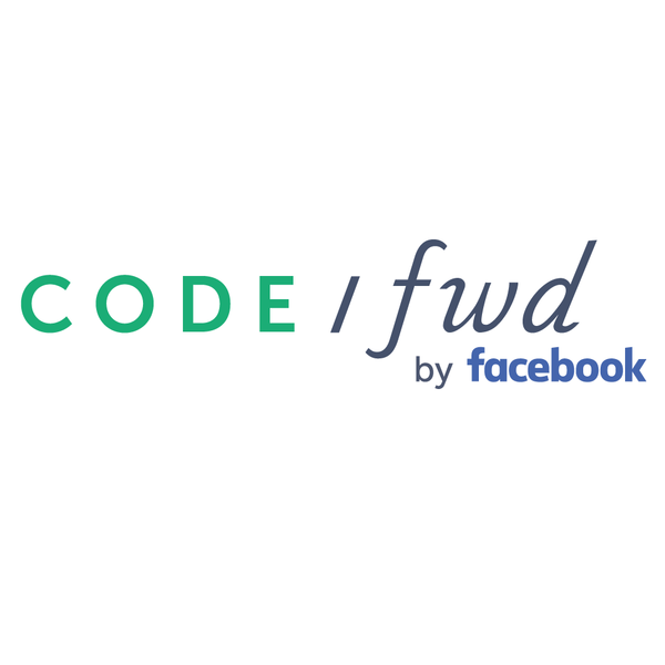 The CODE/fwd by Facebook logo.
