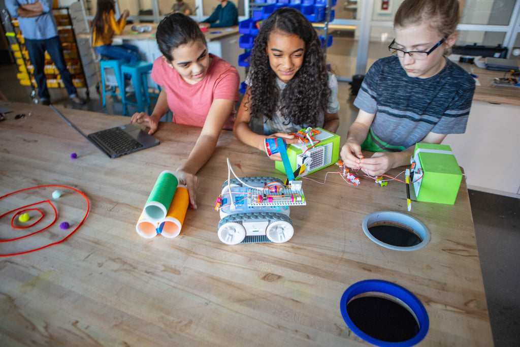 Group projects are one way educators are making learning fun for their students.