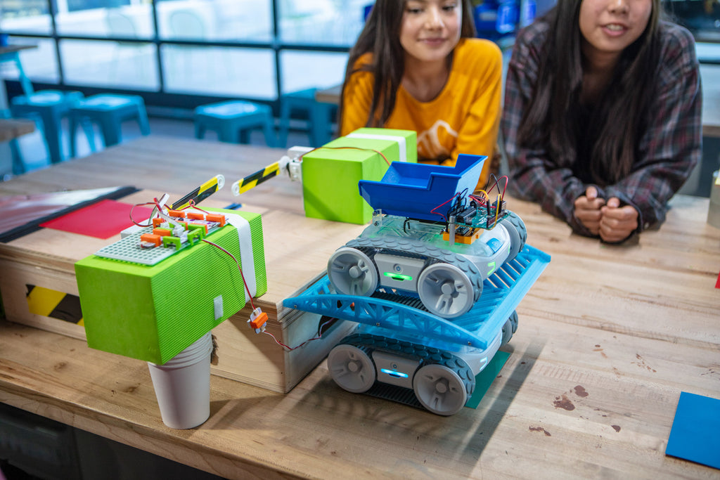 STEM projects with Sphero robots are a great way for students to practice the engineering design process and learn about the different types of engineering.