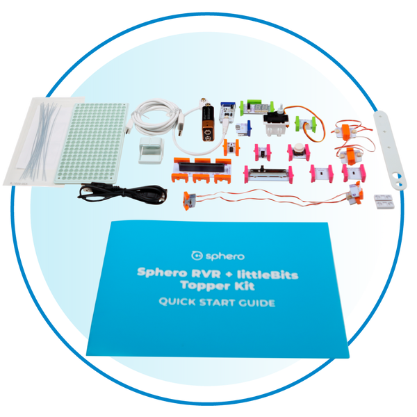 littleBits add-on circuit kit for RVR STEAM robot.