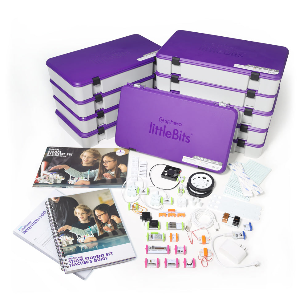 littleBits STEAM Student Set Class Pack.