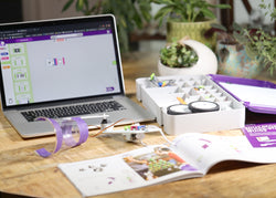 laptop and littleBits kit