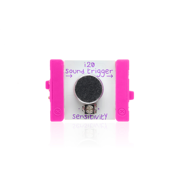littleBits i20 sound trigger bit
