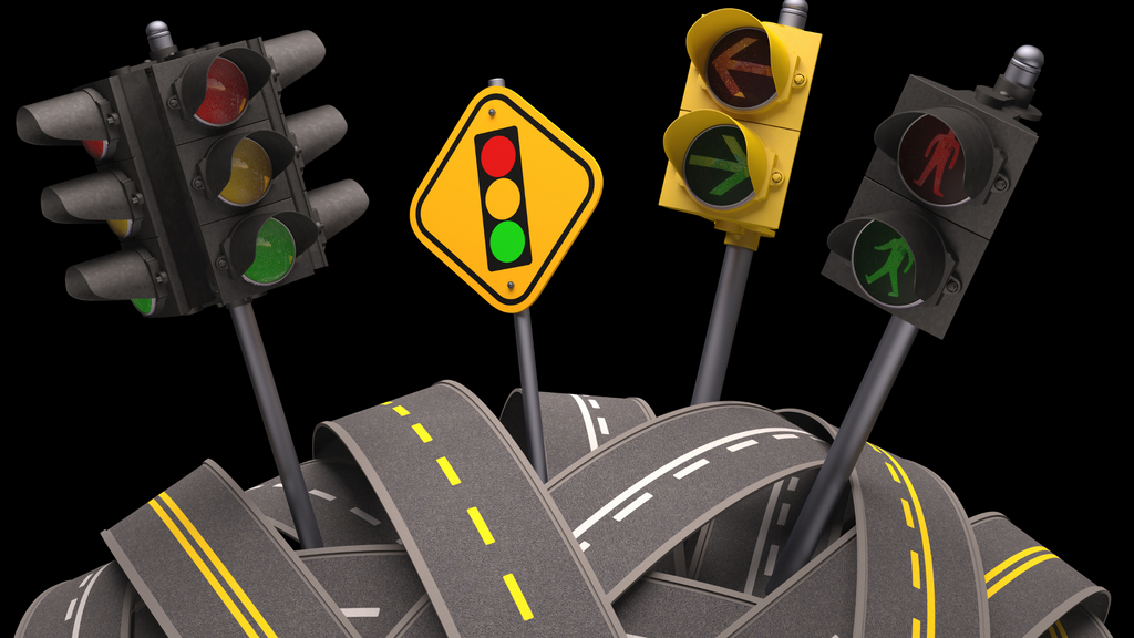 Traffic lights are a great example of how algorithms are used in the real world, all around us.