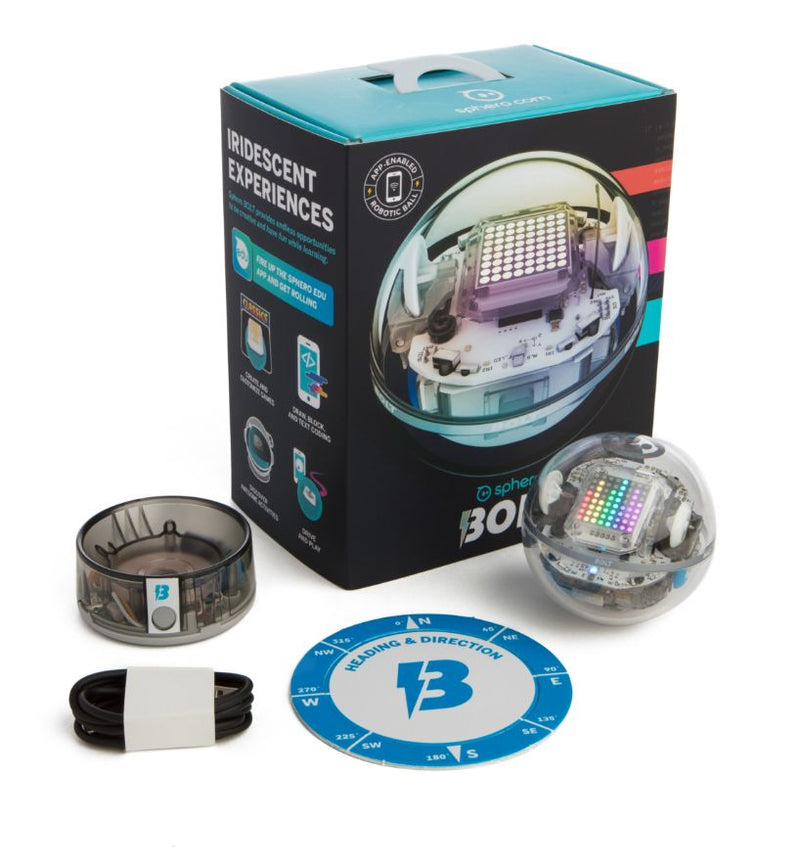 Sphero BOLT product and packaging.