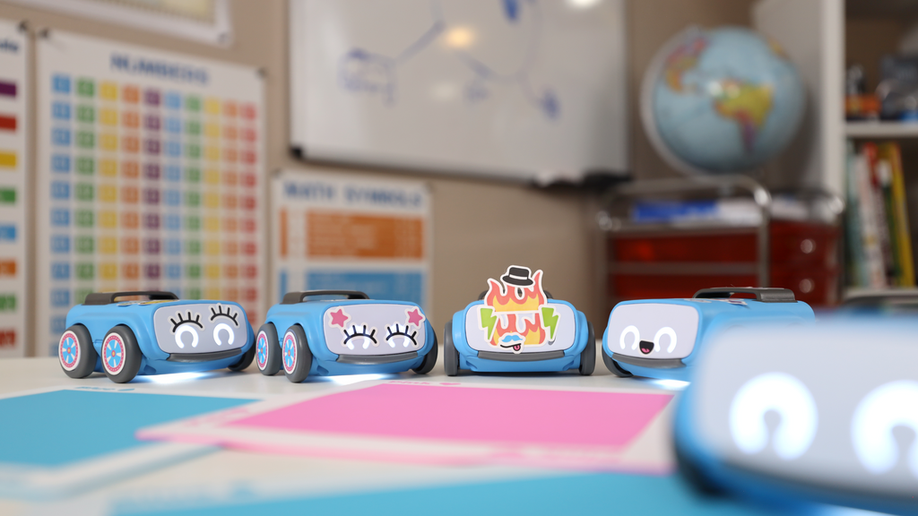 Young learners often humanize programmable robots, like Sphero indi, because of how cute they are. This helps build a connection to the tools they use in education.