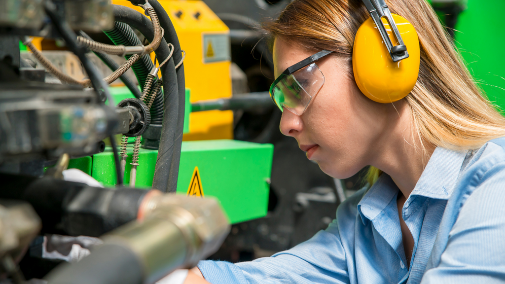 Mechanical engineering is one of the main types of engineering.