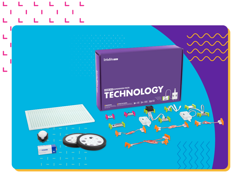 littleBits Technology Code Kit Expansion Pack.