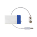 littleBits 9V Battery with blue end + White Cable