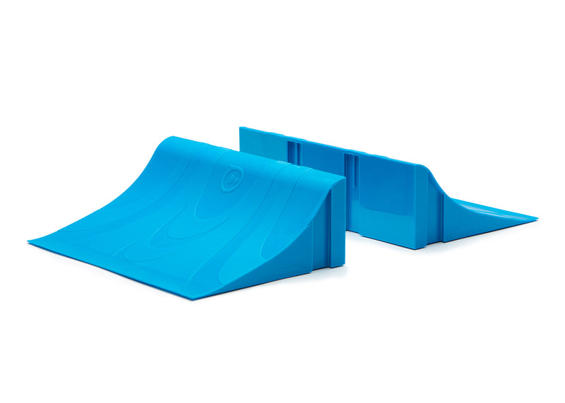 Sphero® Terrain Park blue ramps.