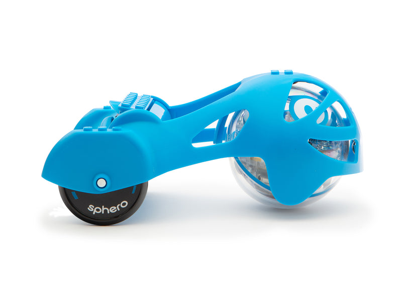 Blue Sphero Chariot on SPRK side view.