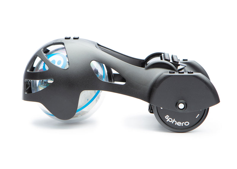 Black Sphero Chariot on SPRK side view.