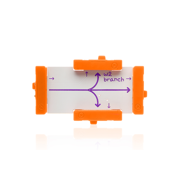 Orange littleBits w2 branch.
