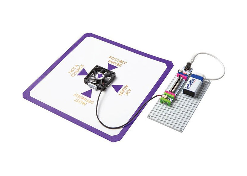littleBits Bubble Bot Hall of Fame Starter Kit invention.