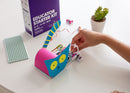 littleBits Educator Starter Kit tail wagging cat invention.