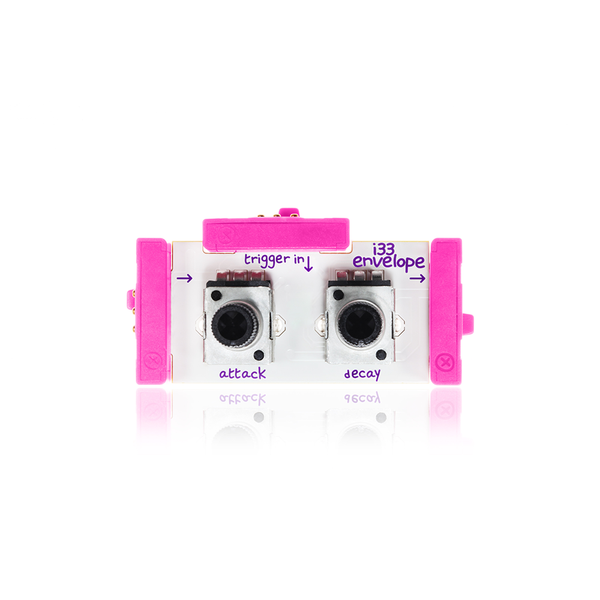 Pink littleBits i33 envelope bit.