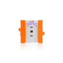 Orange littleBits w10 inverter bit.