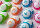 Several different color Sphero Mini Shells.