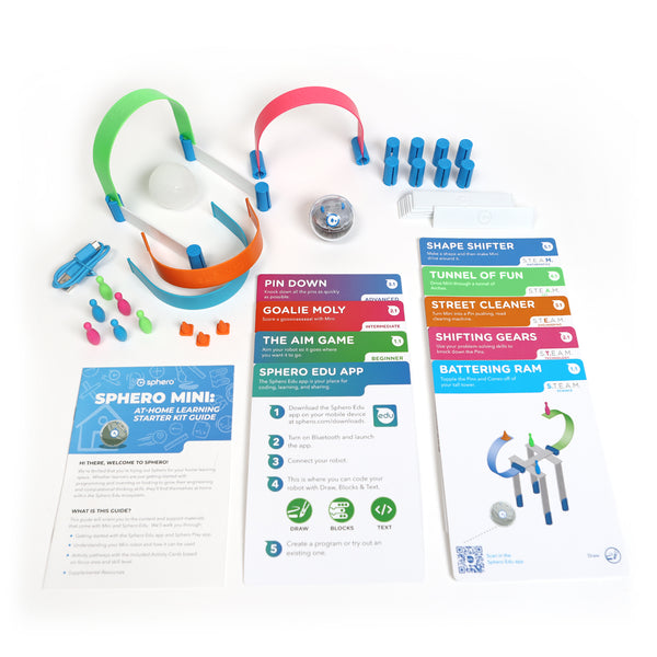 Sphero Mini Learning at home Starter Kit