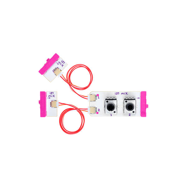 Pink littleBits i37 mix bit.