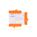 Orange littleBits w16 NAND bit.
