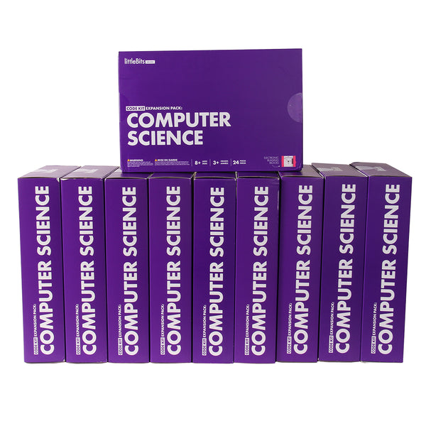 littleBits Code Kit Expansion Pack: Computer Science Classroom Bundle.