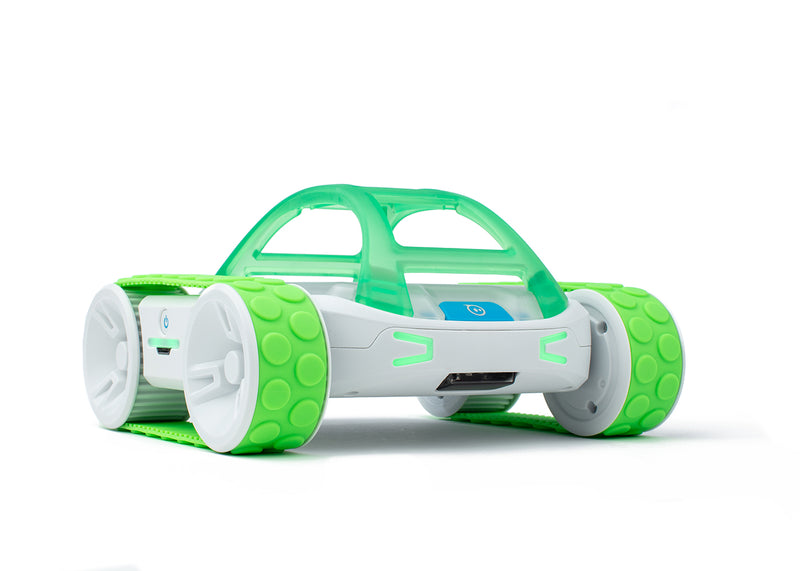 Green Sphero RVR Tank Treads on Sphero RVR.