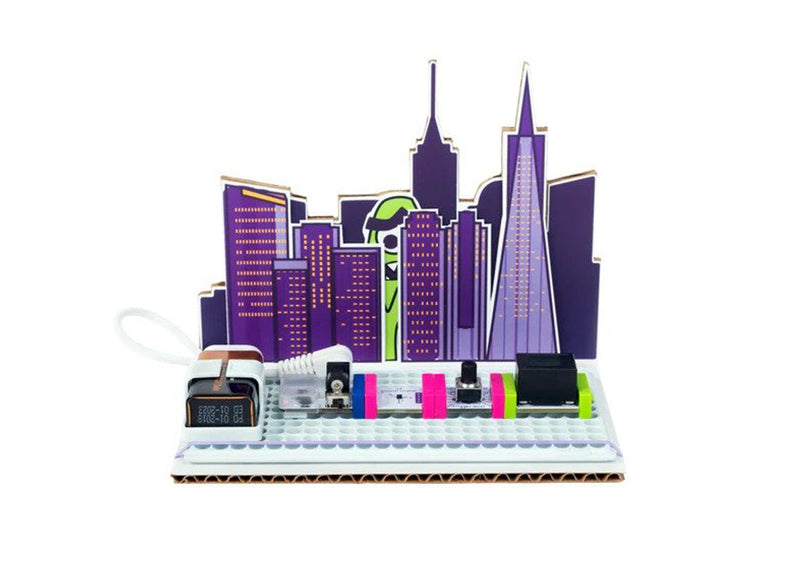 littleBits STEAM Student Set Expansion Pack: Science city invention.