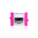 Pink littleBits i1 slide switch bit.
