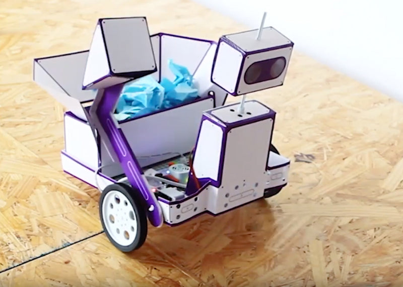 littleBits Space Rover invention